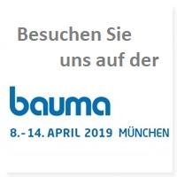 Peres GmbH stellt aus: BAUMA 2019